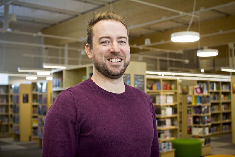 William O'Gorman on asunut Suomessa 12 vuotta ja työskentelee nykyään Kalajoen kaupungin kansainvälisyyskoordinaattorina.