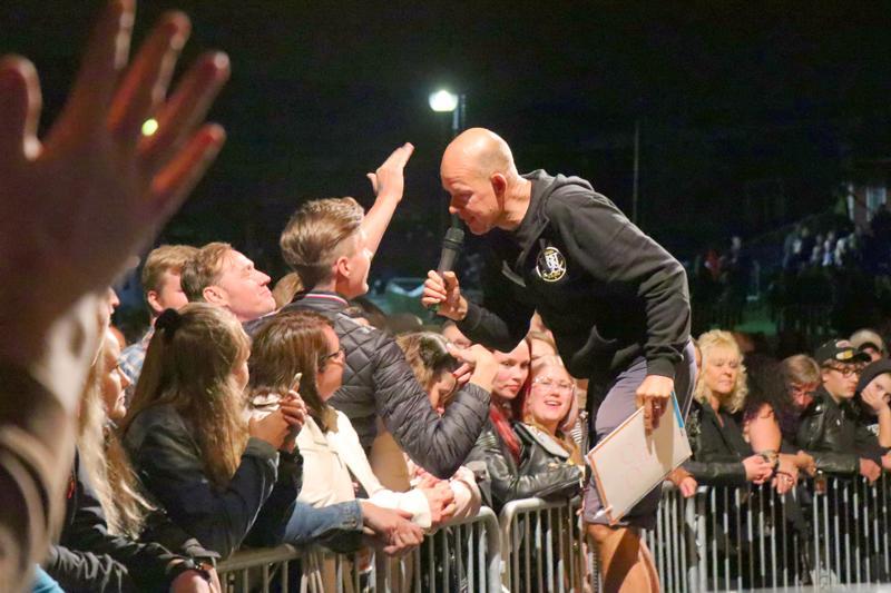 Ensimmäisen First Run Rockin juontanut Kaj Kunnas nähdään Kaustisen rock-tapahtumassa myös ensi vuonna.