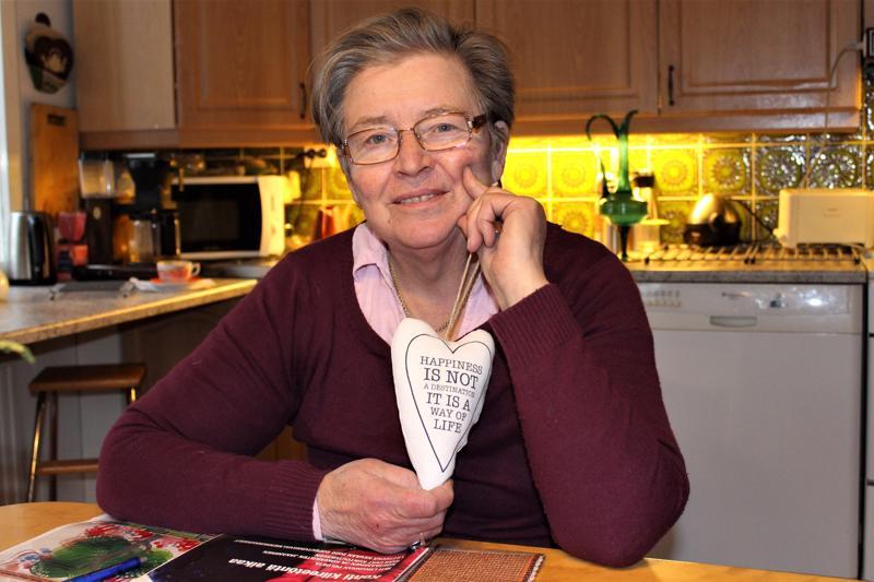 Forsbyläisen Maila Hägglundin mukaan sydänterveyden edistämisessä tärkeää on tietoisuuden lisääminen.