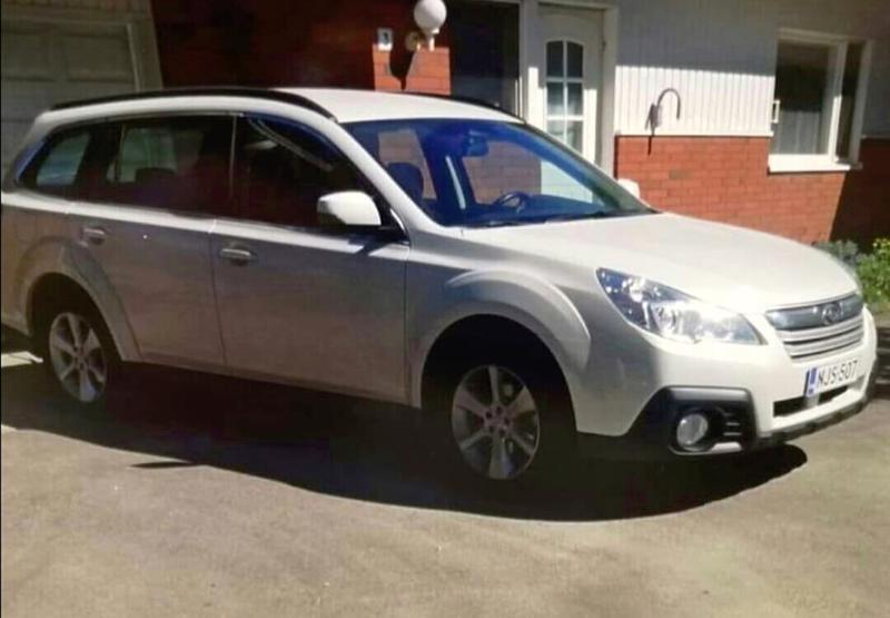 Viikonloppuna Nivalasta varastettu auto on Subaru Outback, jonka rekisteritunnus on NJS-507.