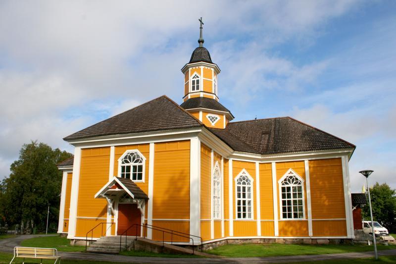 Himanka: kirkko.