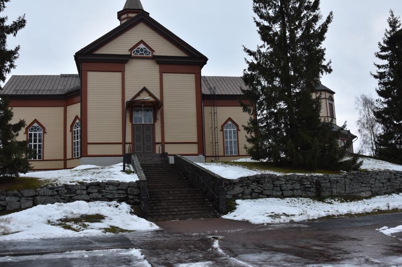 Kannus: kirkko.
