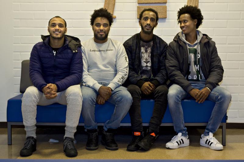 Abel Zekariyas, Samuel Gebreslase, Alexander  Gbrehiwet ja Zenay Teklay käyvät peruskoulua Kalajoen Kristillisellä Opistolla.
