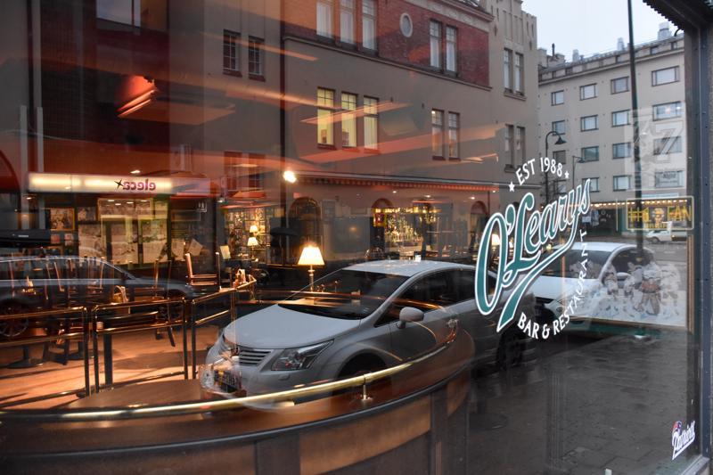 O'Learys tuli Madisonin tilalle kymmenen vuotta sitten. Helmikuussa ravintolan logo vaihtuu jälleen.