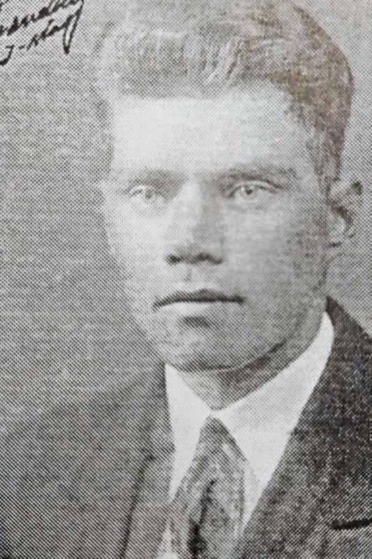 Tykkimies Guido Julius Granholm s. 7.8.1909 Luoto, k. 13.1.1940 Turku, sotasairaala.