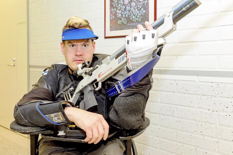 Jarkko Mylly on todennäköinen valinta Tokion ensi vuoden paralympialaisiin.