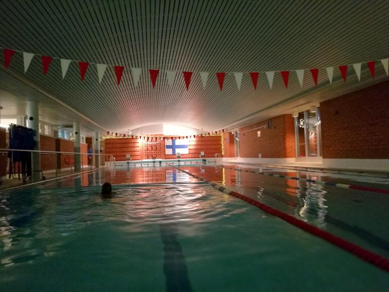 Vetelin uimahallissa on tällä hetkellä yksi iso (kuvassa) ja yksi pieni allas. Lisää allastilaa ei ole näillä näkymin sittenkään luvassa.