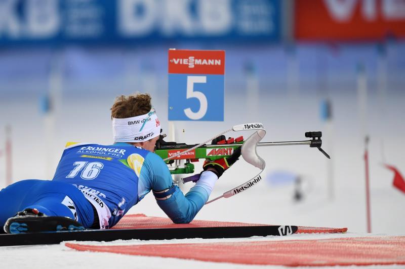 Tero Seppälä ampui kaikkiaan kolme ohilaukausta, joista makuulla tuli kaksi.