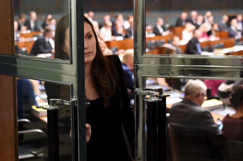 Ministeri Sanna Marin on vahvoilla uudeksi pääministeriksi.