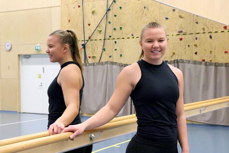 Selma Saarinen opiskelee Kaustisen musiikkilukion liikuntalinjalla.
