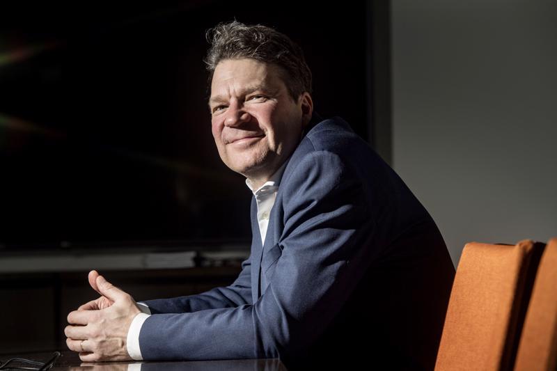 Keliberin toimitusjohtaja Pertti Lamberg.
