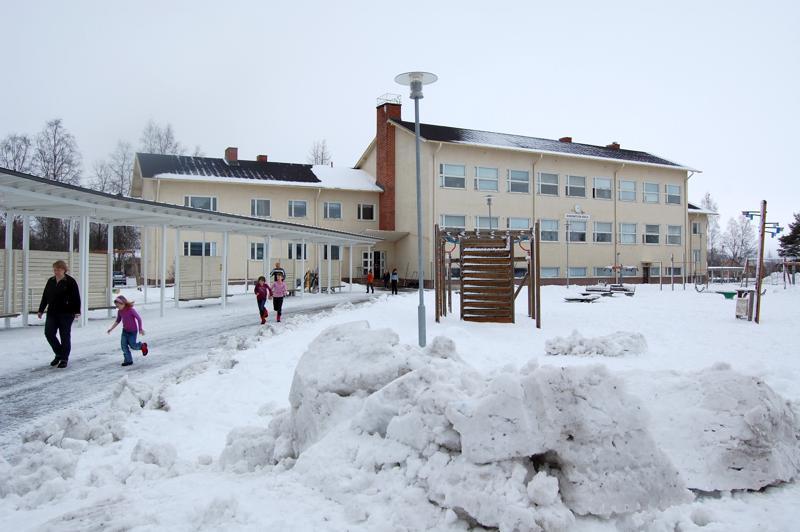 Lauri Haikolan koululla Sievin keskustassa on tänä lukuvuonna on 210 alakoululaista.