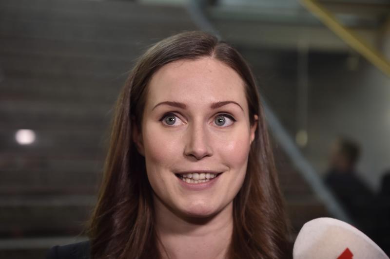 Sanna Marinia on luonnehdittu puolueensa vasemman laidan edustajaksi.