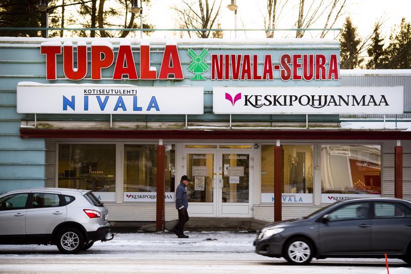 Nivala-lehden toimitus Tupalassa on ensi vuoden alusta alkaen auki kolmena päivänä viikosta.