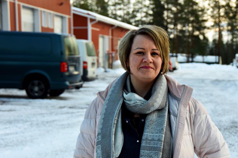 Kalliotien vastaanottohalli on täynnä, ja niin ovat muutkin Haapaveden Teollisuuskiinteistöt Oy:n tilat, kertoo yritysasiamies ja Teollisuuskiinteistöt Oy:n toimitusjohtaja Marjaana Tuomikoski.