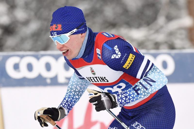 Iivo Niskanen menee yhä paremmin vapaalla hiihtotavalla.