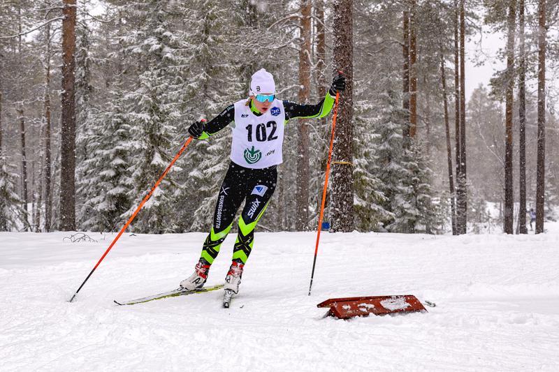 Tellervo Rannon seuraava kilpailu on Haapaveden Kansalliset joulun jälkeen. Arkistokuva.