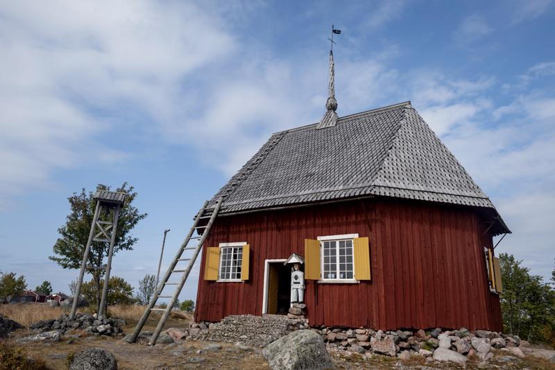 Maakallan kirkko on vuodelta 1780.