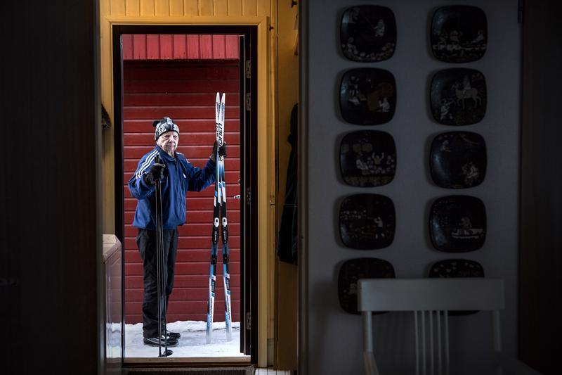 Heikki Riipan Peltoset ovat toista talvea käytössä.
