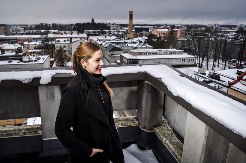 Sonja Rajic on kokenut Kokkolassa monta mukavaa asiaa. Hän arvelee, että jossain muualla ne olisivat jääneet kokemata.