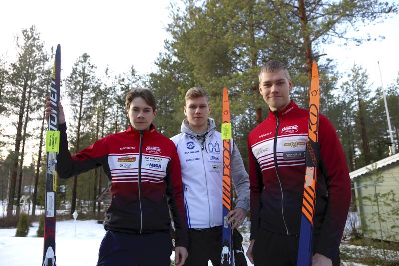Onni, Joona ja Pauli Mäkelä hiihtävät maakuntaviestissä Vetelin ykkösjoukkueessa. Tavoitteena joukkueella on mitali, mutta mitä tahansa voi viestikisassa tapahtua.