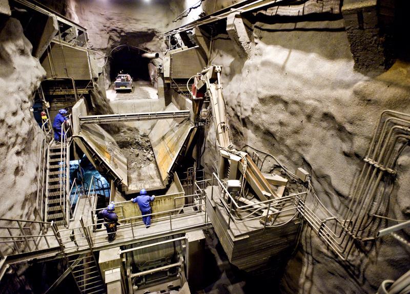 Työt Pyhäjärven kaivoksen uumenissa jatkuvat vielä kesälle 2021.