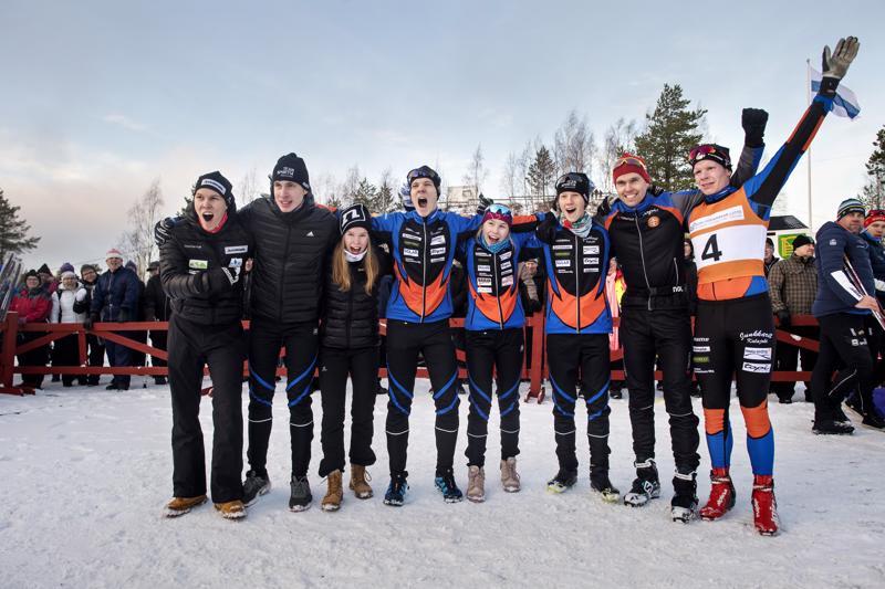 Kalajoki voitti Keski-Pohjanmaan maakuntaviestin vuosimallia 2020.