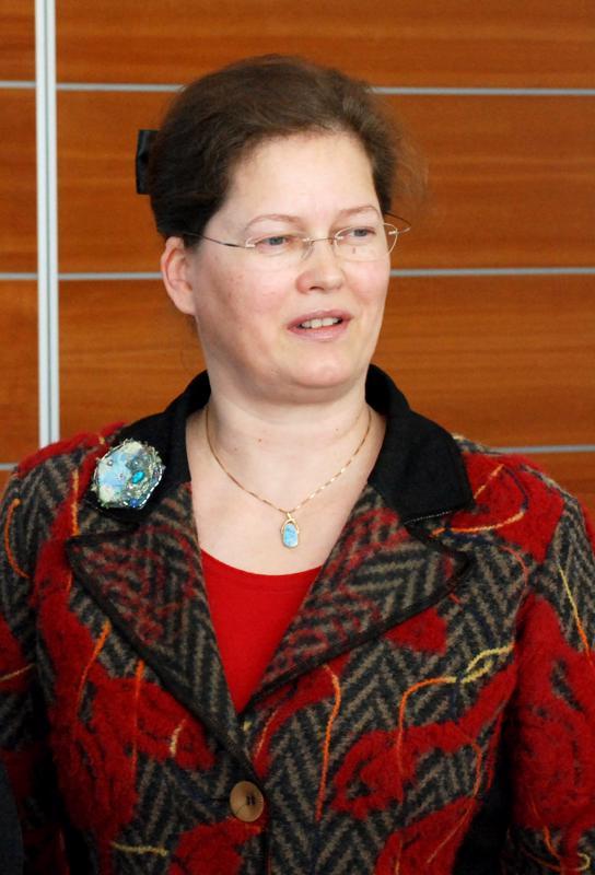 Taina Pihlajaniemi osallistui Kerttu Saalasti seminaariin vuonna 2010.