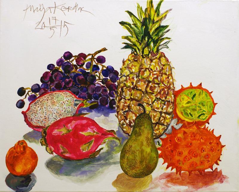 Eksoottiset hedelmät.