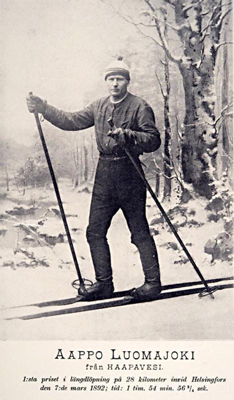 Aappo Luomajoki oli aikansa superjulkkis, jonka valokuvia myyntiin kisapaikoilla ja kirjakaupoissa.
