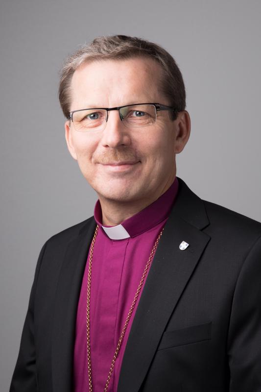 Oulun hiippakunnan piispa Jukka Keskitalo.