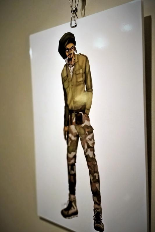 Brasilialaisen Rodrigon pukeutuminen on muuttunut paljon niistä ajoista kun hän eli sademetsässä. Luonnonläheisyys on säilynyt  tyylissä.