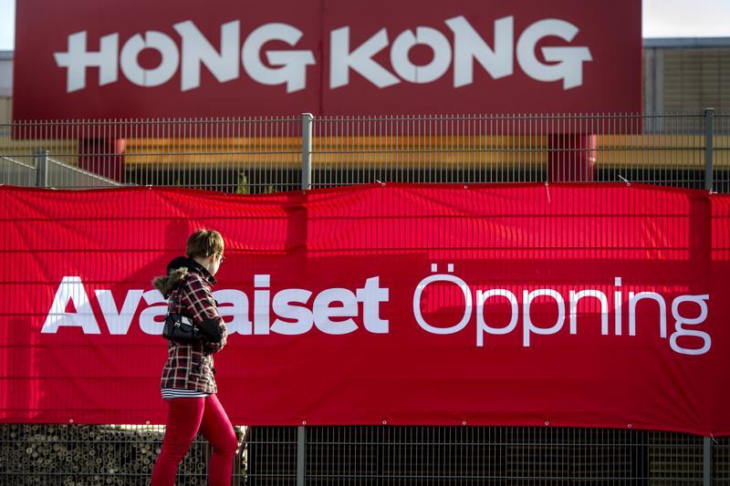 Hong Kongin edellisiä avajaisia vietettiin Kokkolassa huhtikuussa 2014.