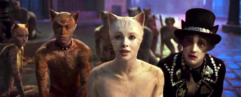 Cats tarvitsee kaikki yhdeksän henkeään, mutta tarjoaa pari kolme hurmaavaa hetkeä.
