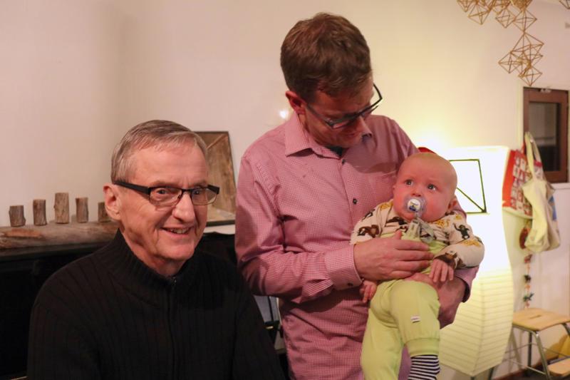 Virkkalan suvussa on nyt kolme Ilmaria: Kauppi Ilmari, Markus Ilmari ja Ilmari Taito Johannes.