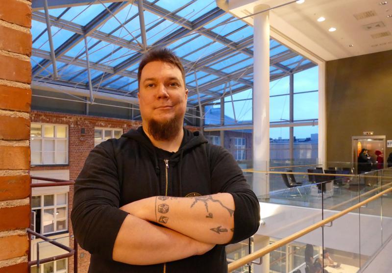 Uuden koulutuslinjan lehtorina toimii Heikki Ahonen.