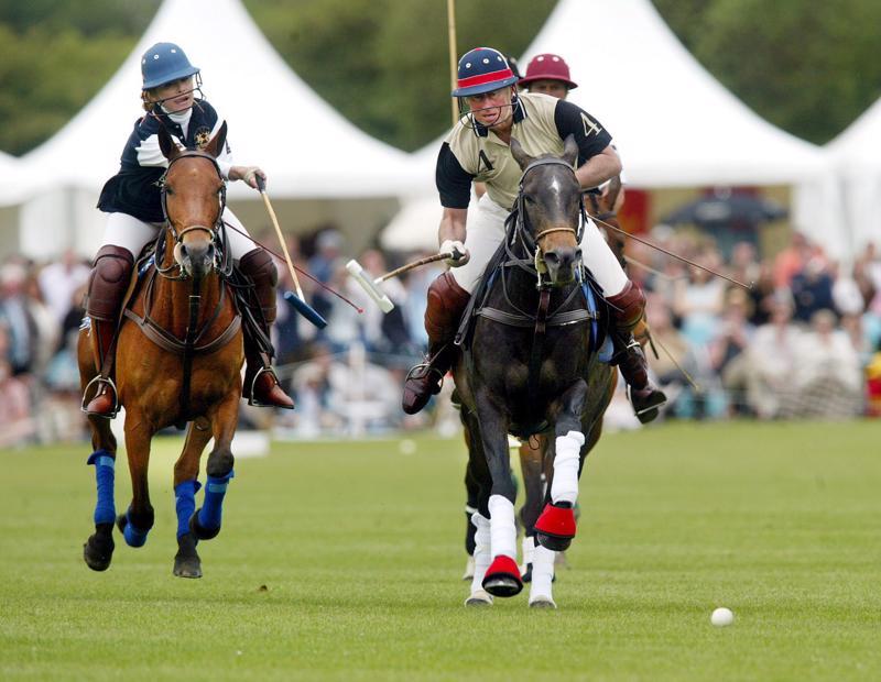 My favourite sport. Walesin prinssin ykköslaji on peribrittiläinen poolo.