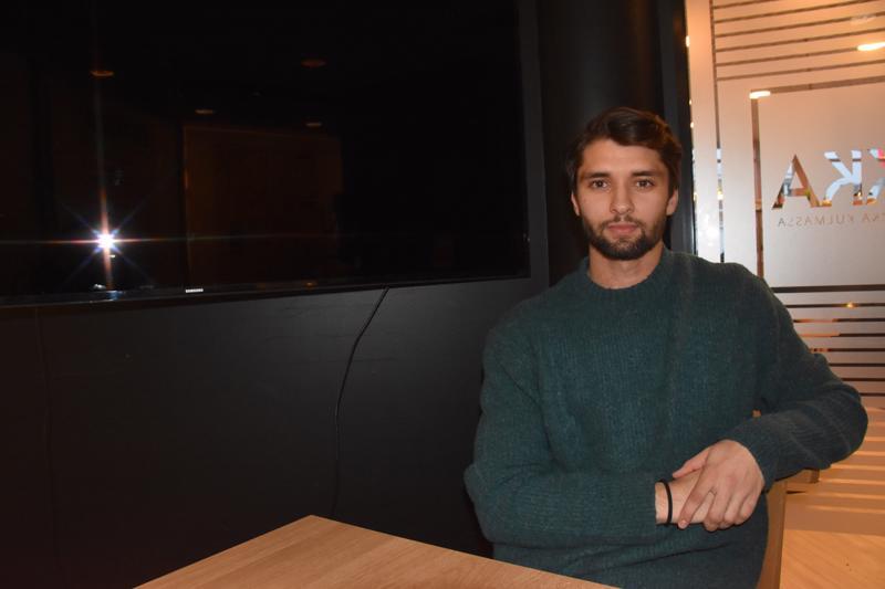 Toista kautta Hermeksessä pelaavan Sebastian Mobergin tavoitteet ovat paluussa liigapeleihin.