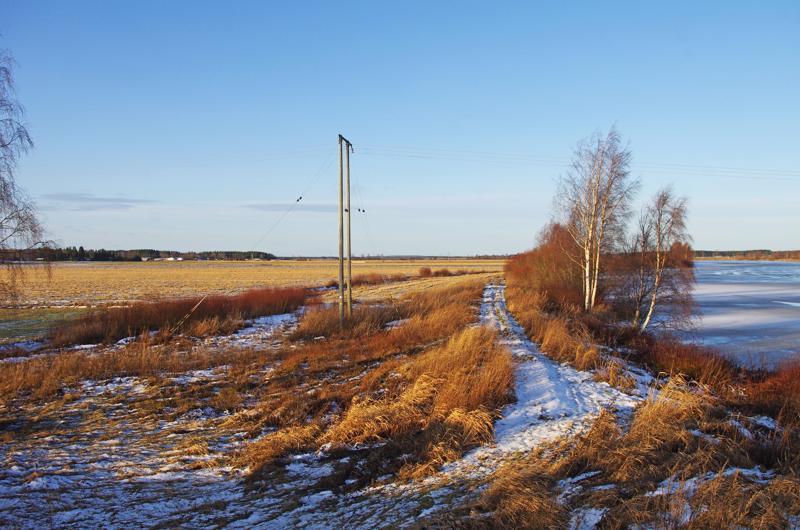 Siirtoviemäri tulee näillä näkymin kulkemaan Kalajoen lounaispuolen peltomaisemissa.