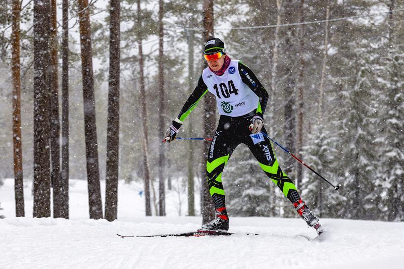 Roosa Juuskalla oli viidensissä SM-kisoissa jokaisena päivänä pientä epäonnea. Arkistokuva.