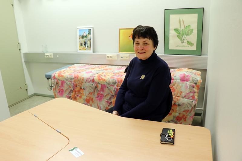 Riitta Seppä työskentelee Pajalan korjaamolla sielunhoitoterapeuttina.