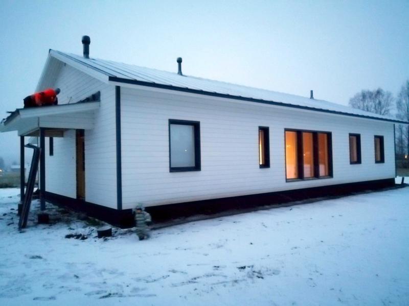 Veera Björkbackan ja Tuomas Puronahon oma koti valmistuu Virkkalaan.