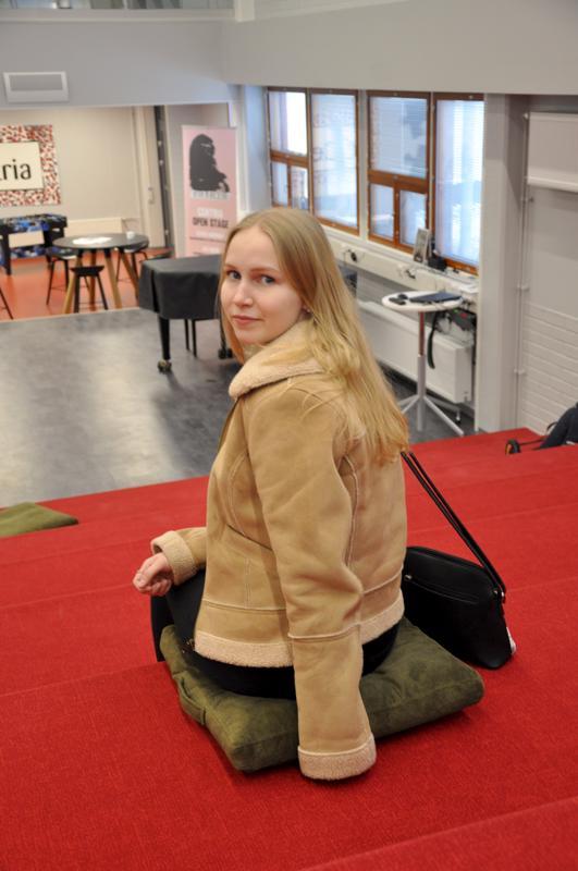 Onnea! Tiia Isosaari Kannuksesta aloitti opinnot Centriassa syksyllä.