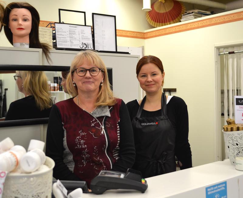 Äiti ja tytär, Marika Korkiakoski-Jämsä ja Jonna Jämsä yrittävät yhdessä.