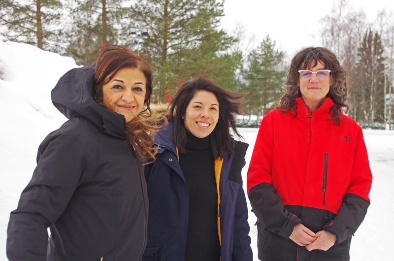 Italialainen Augusta Chiappini, espanjalainen Sara Gosalbez ja ranskalainen Christine Legros luonnehtivat suomalaisia hiljaisiksi ja tehokkaiksi.