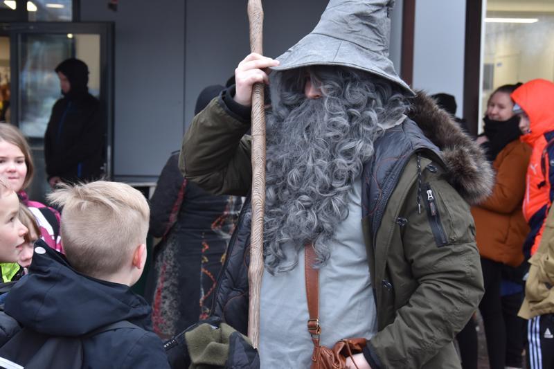 Gandalf harmaan viisaudet tehosivat yleisöön, vai olivatko ne karkit?