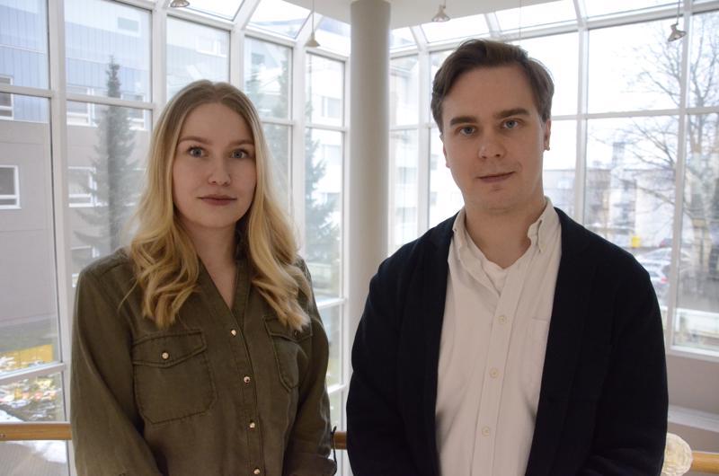 Sonja Vertainen ja Janne Valkeajoki.