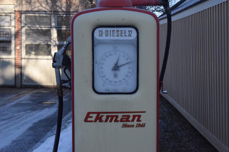 Dieselmittari vuodelta 1951 on yhä käytössä.