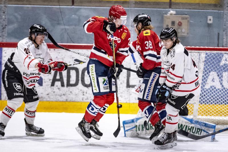 Hermeksen Alex Levänen ja Jesper Ahlgren hakevat lauantaina revanssia Peliitoista, joka vei pisteet helmikuun alussa Kokkolasta.