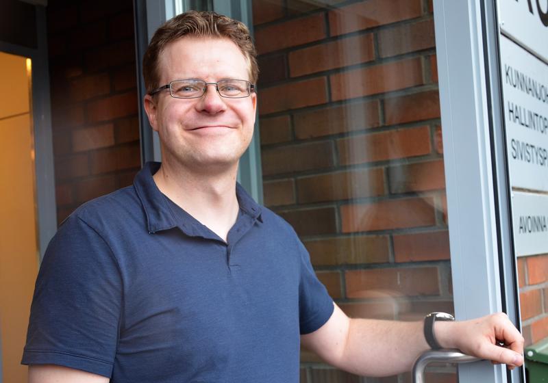 Elokuussa työnsä aloittanut Matti Pulkkinen ennätti työskennellä Alavieskan hallinto- ja sivistysjohtajana vain puoli vuotta.